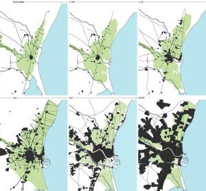 Evolución-crecimiento-urbano